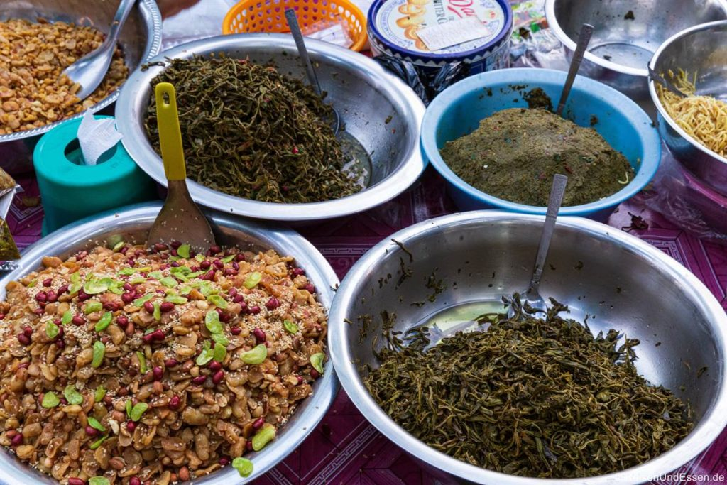 Markt in Chinatown in Yangon