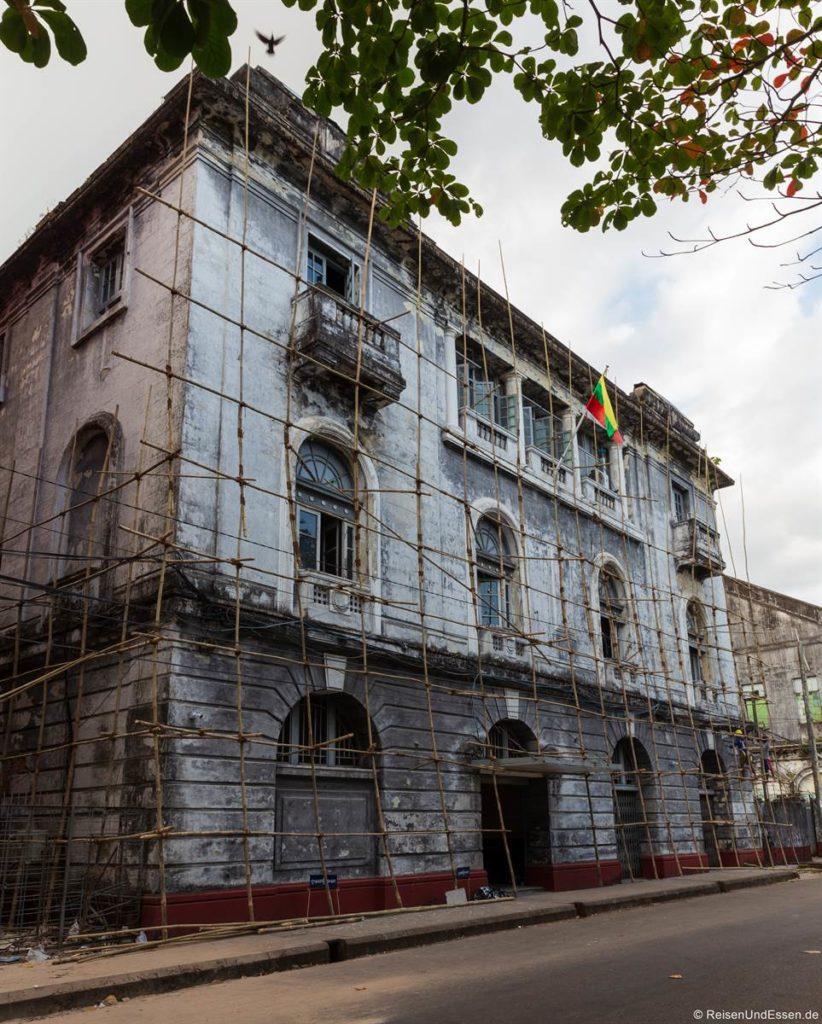 Restaurierung einen verfallenen Gebäudes