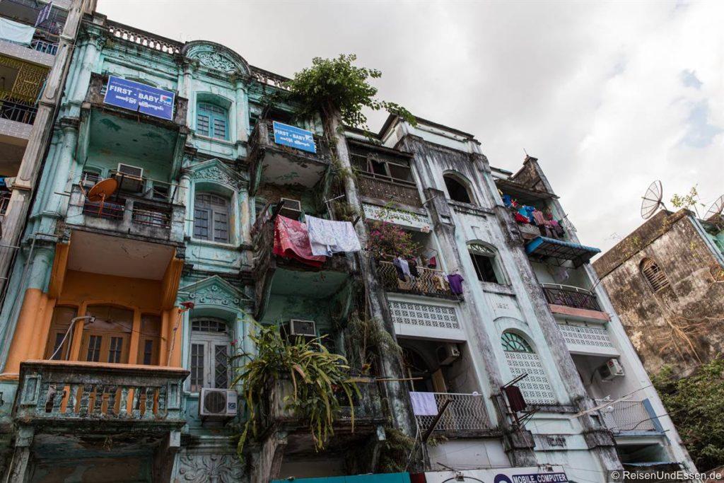 Verfallenes Gebäude in Chinatown