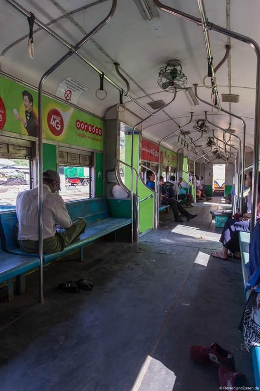 Waggon im Circle Train