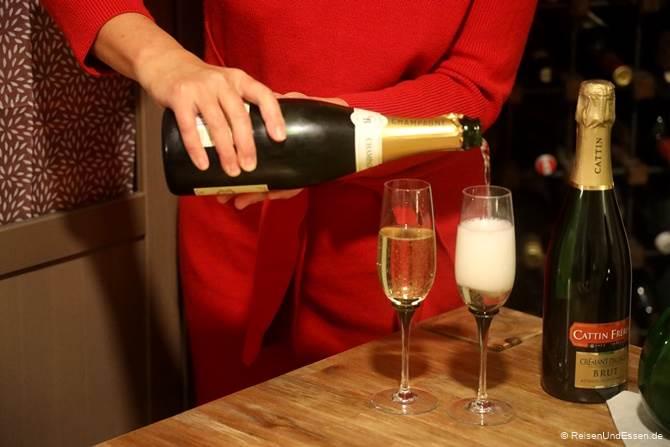 Champagner zu Silvester 2020