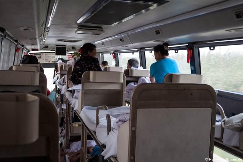 Mit dem Liegebus zurück nach Peking