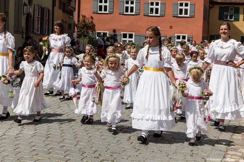 Dinkelsbühl – Sehenswürdigkeiten in der Altstadt und Kinderzeche