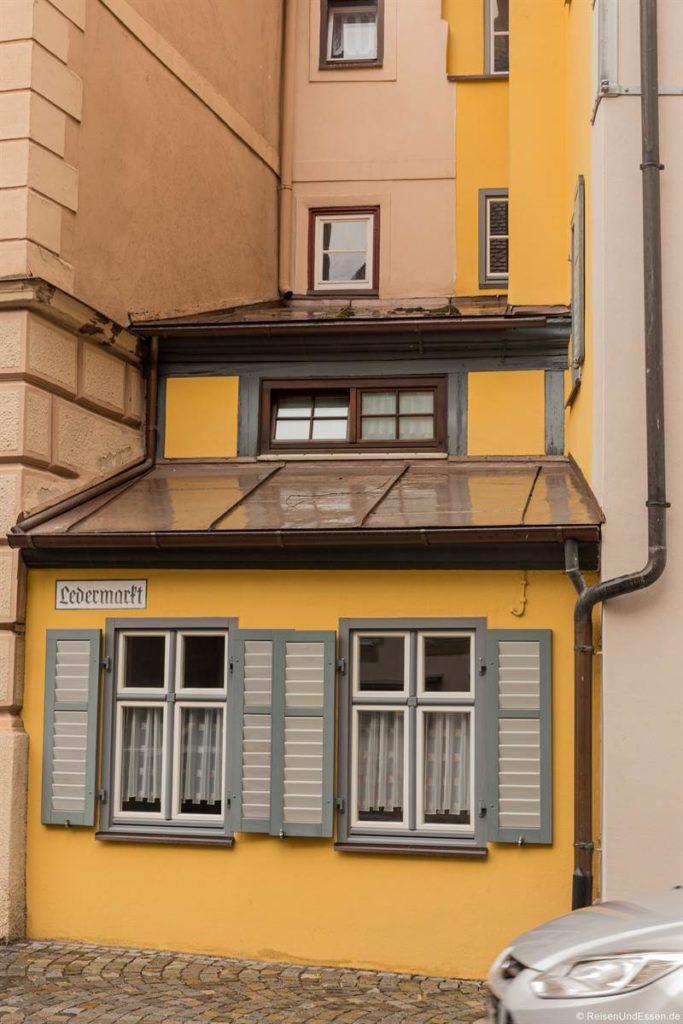 Schmales Haus in der Altstadt