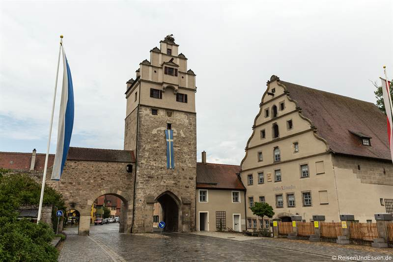 Nördlinger Tor - Sehenswürdigkeiten in Dinkelsbühl