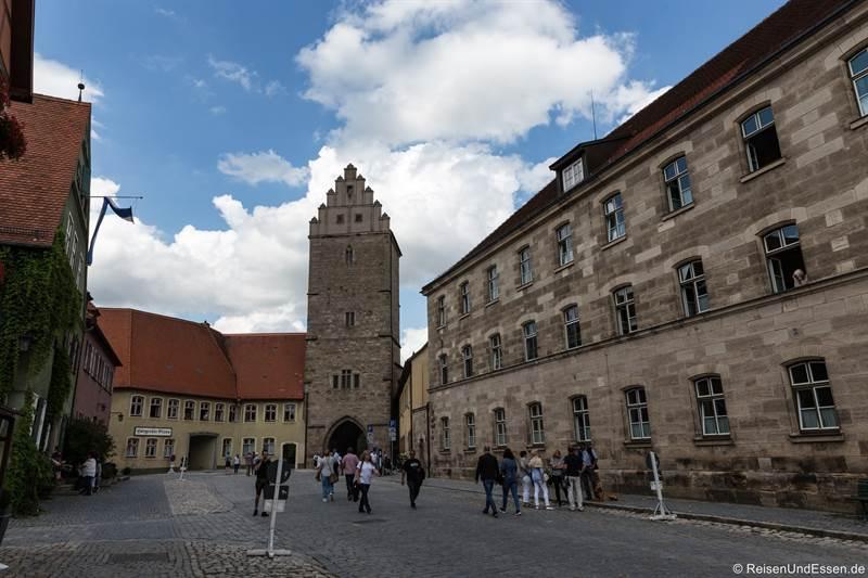 Rothenburger Tor - Sehenswürdigkeiten in Dinkelsbühl