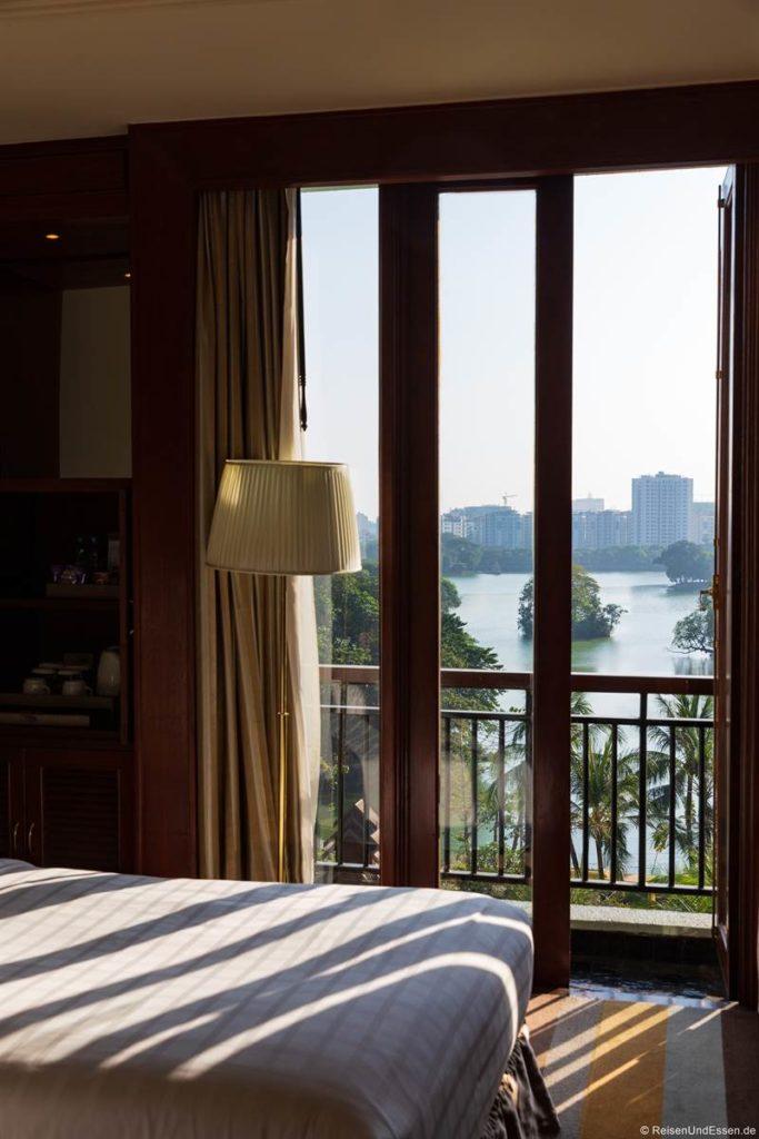 Zimmer mit Aussicht im Chatrium Hotel Yangon