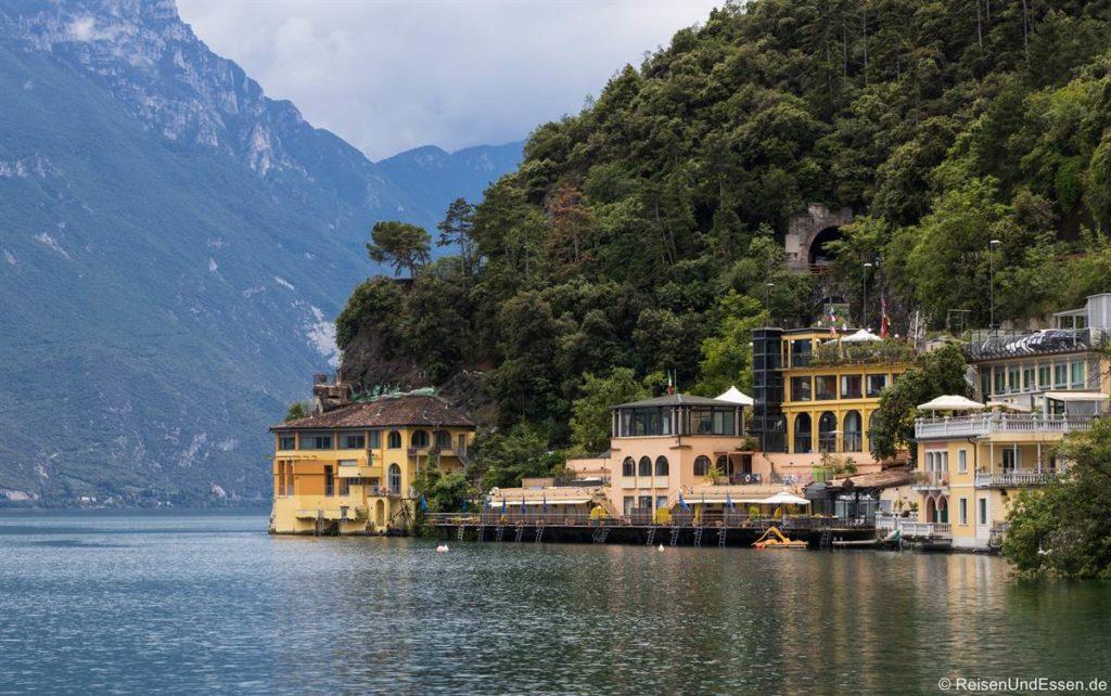 Blick auf Residence Excelsior in Riva del Garda