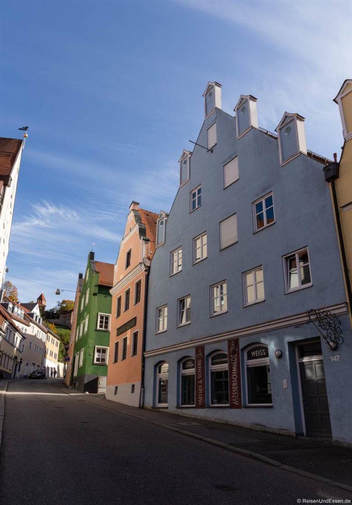 Alte Bergstrasse zur Burg Trausnitz