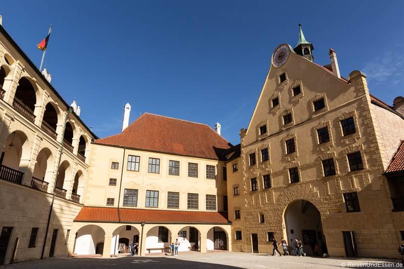 Innerer Burghof der Burg Trausnitz