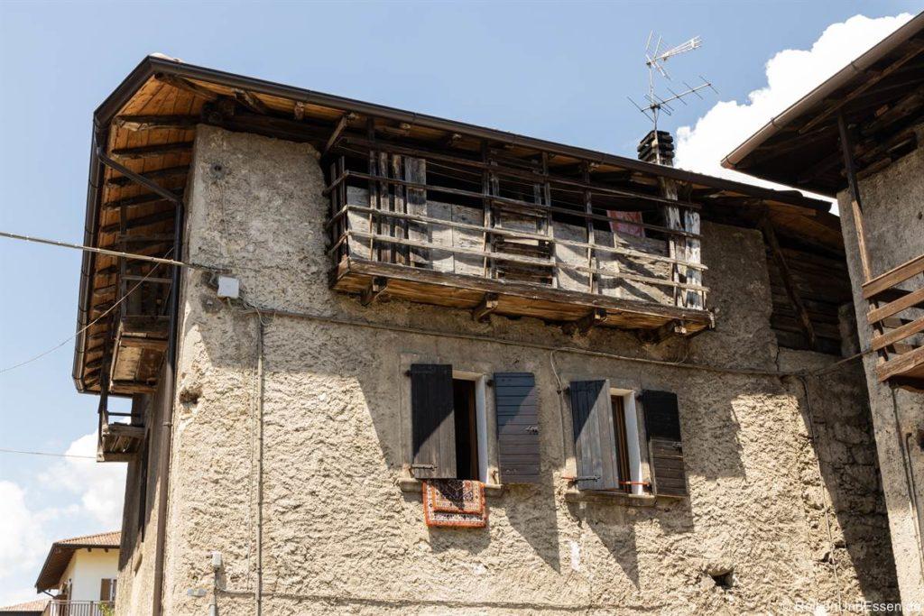 Haus in Molina di Ledro am Ledrosee - Wanderung auf der Ponalestraße