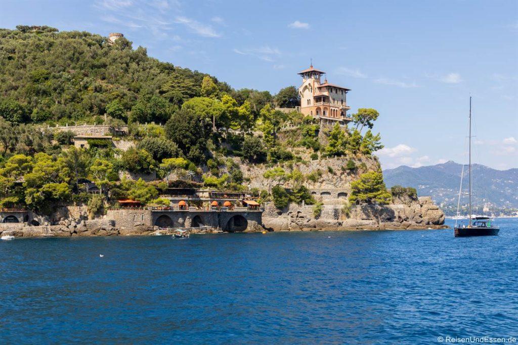 Villa Punta Caieca vom Schiff