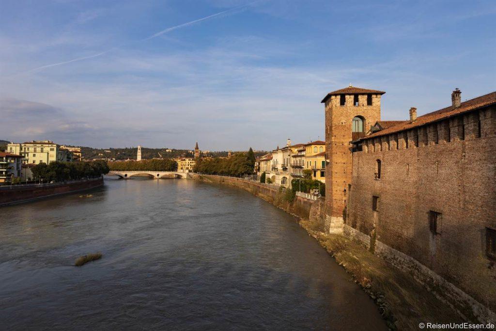 Castelvecchio an der Etsch