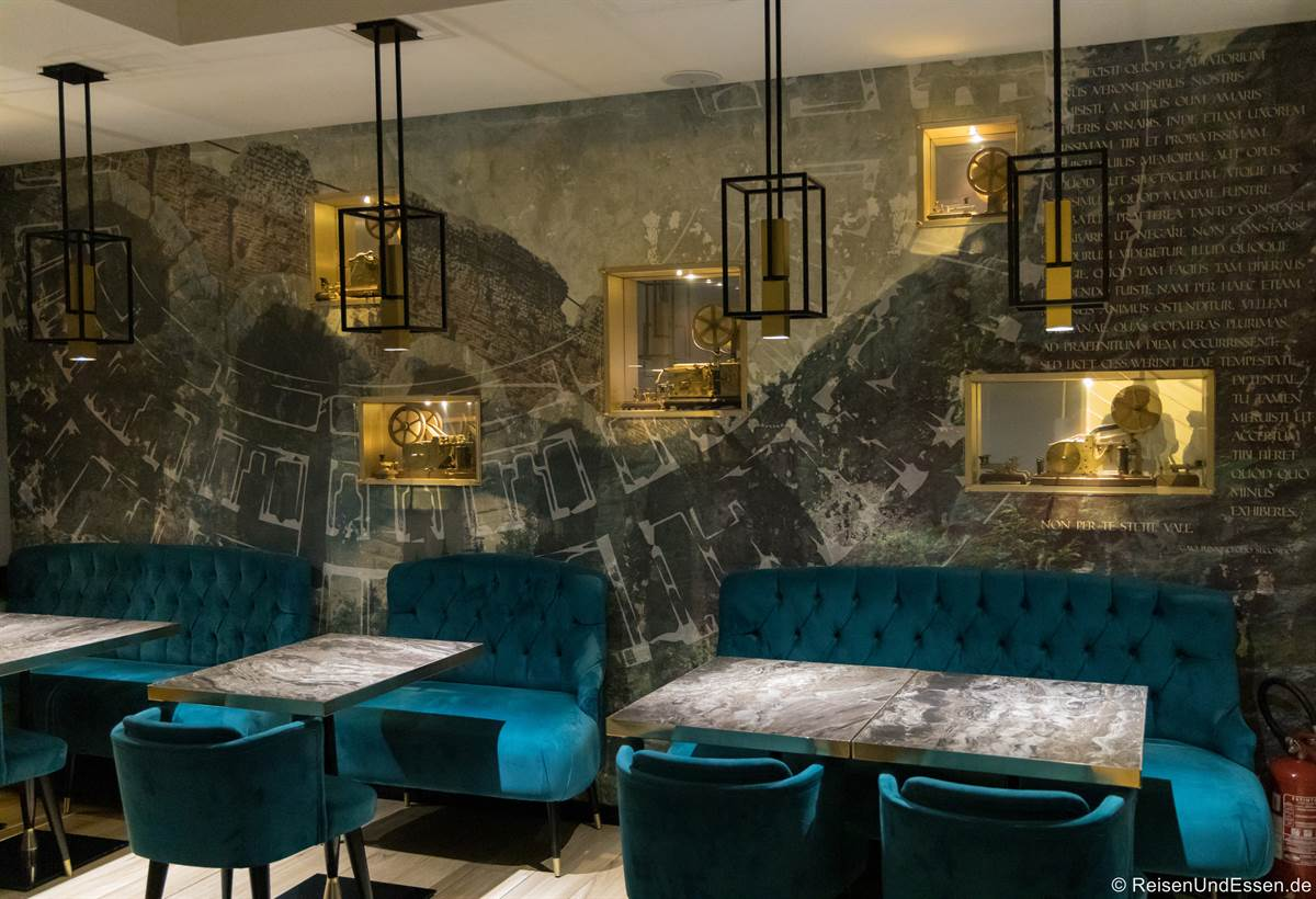 Restaurant im Hotel Milano in Verona