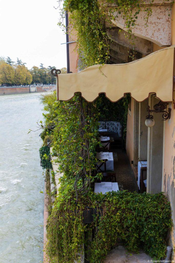Restaurant an der Etsch in Verona