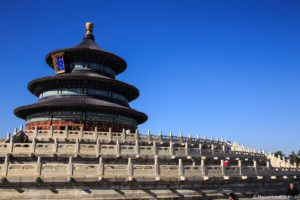 Himmelstempel in Peking in China