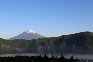 Vulkan Fuji in Japan