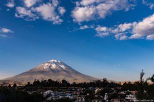 Vulkan in Arequipa in Peru