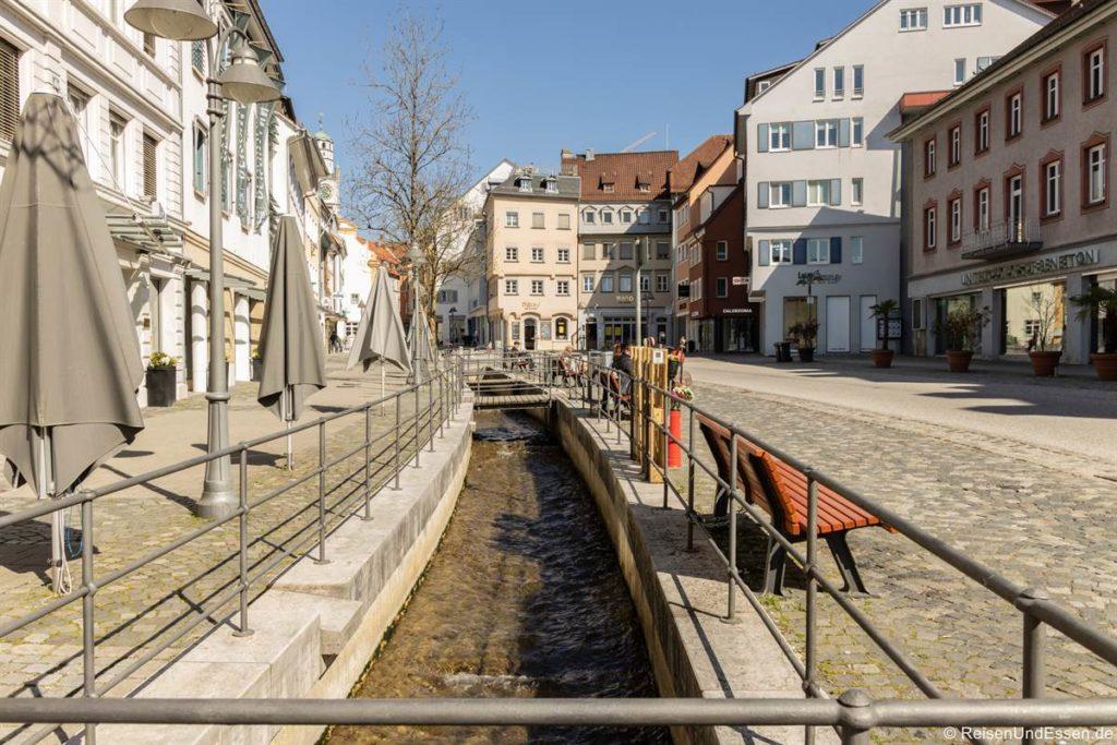 Flappach in der Bachstraße in Ravensburg