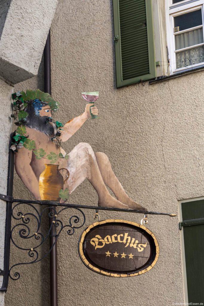 Bacchus in der Altstadt