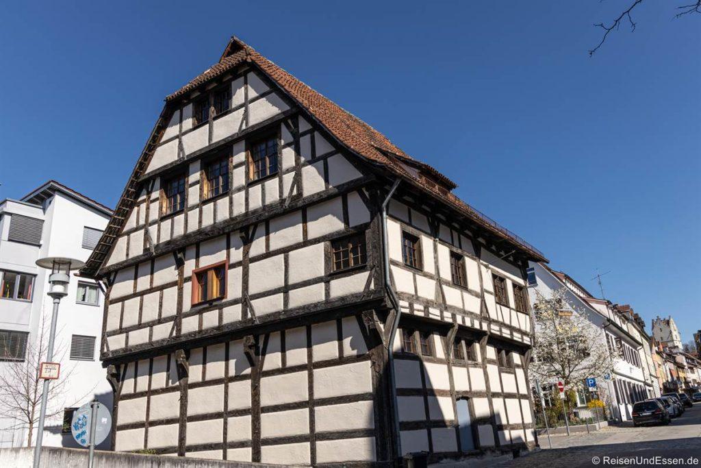 Fachwerkhaus in der Charlottenstraße
