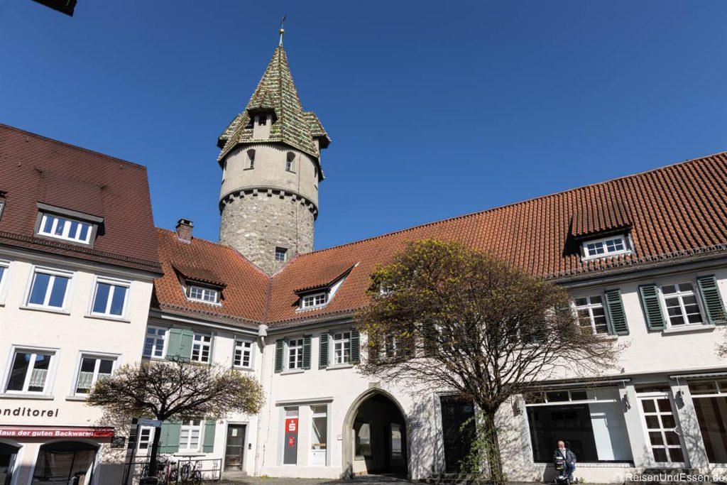 Grüner Turm in Ravensburg