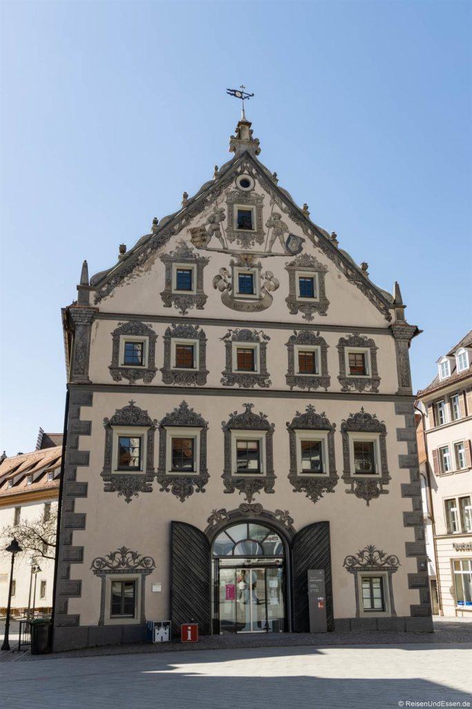 Lederhaus und Touristeninformation beim Marienplatz