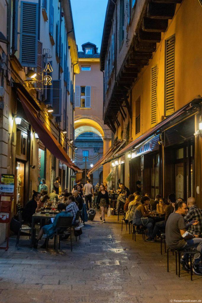 Fressgasse in Bologna