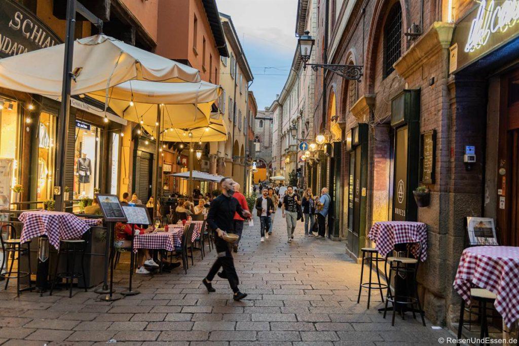 Fressgasse - Bologna: die Fette