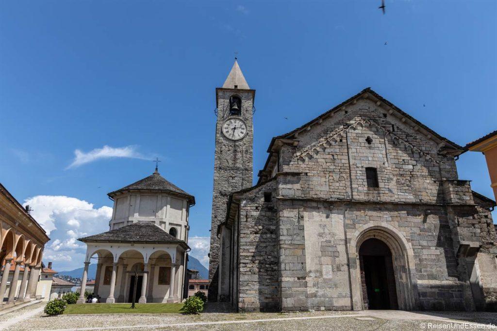 Kirche SS. Gervaso und Protaso in Baveno