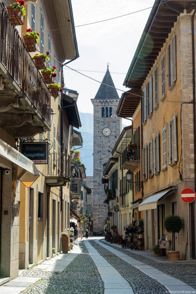 Campanile in Cannobio am Lago Maggiore