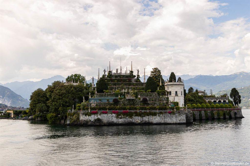 Garten auf der Isola Bella im Lago Maggiore