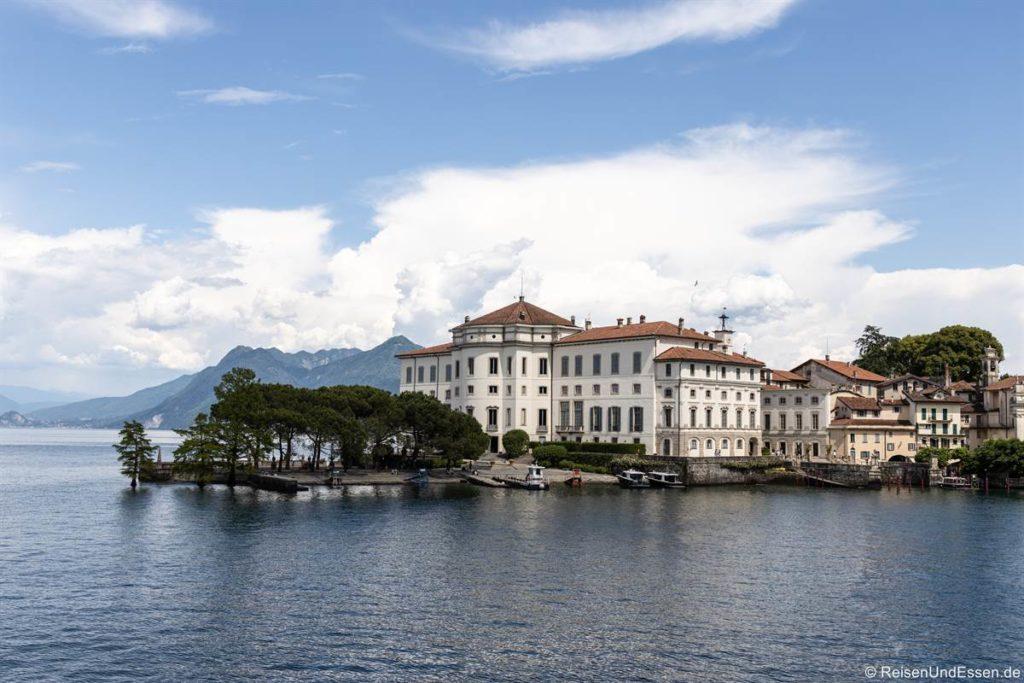 Palazzo auf der Isola Bella im Lago Maggiore