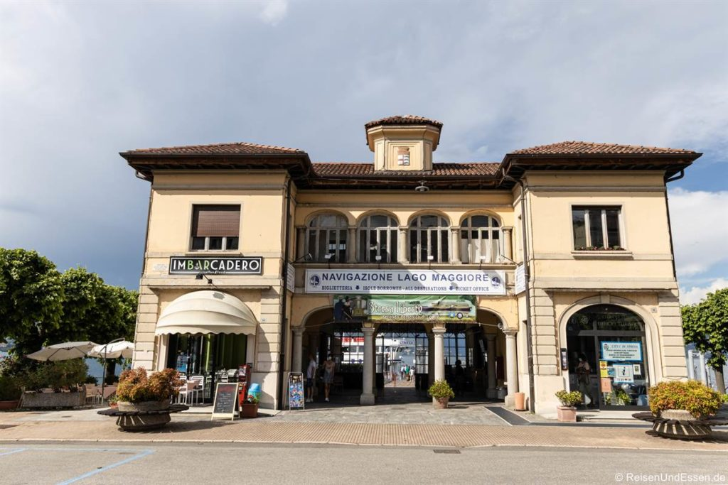 Schiffsanlegestelle in Stresa am Lago Maggiore