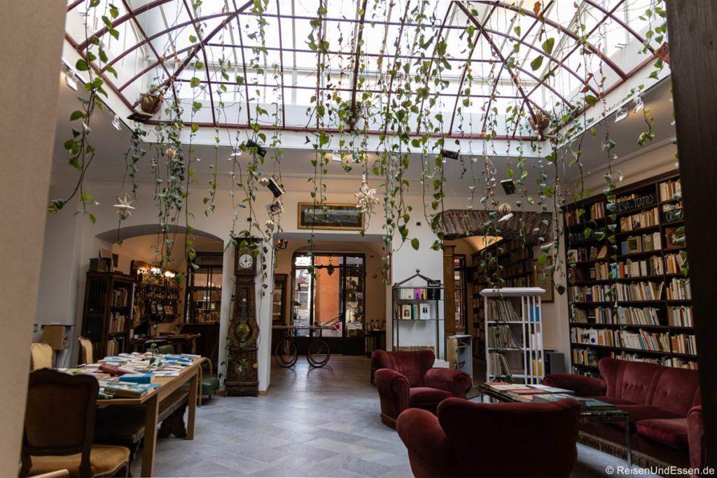 Buchladen in Pallanza am Lago Maggiore