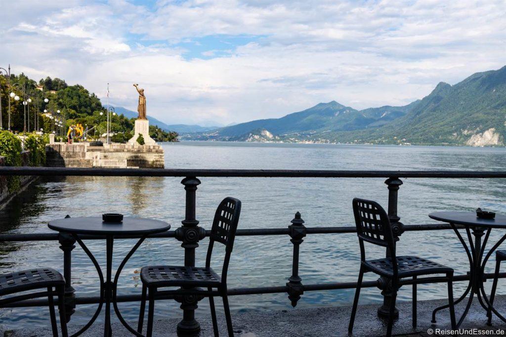 Uferpromenade in Verbania - Sehenswürdigkeiten am Lago Maggiore