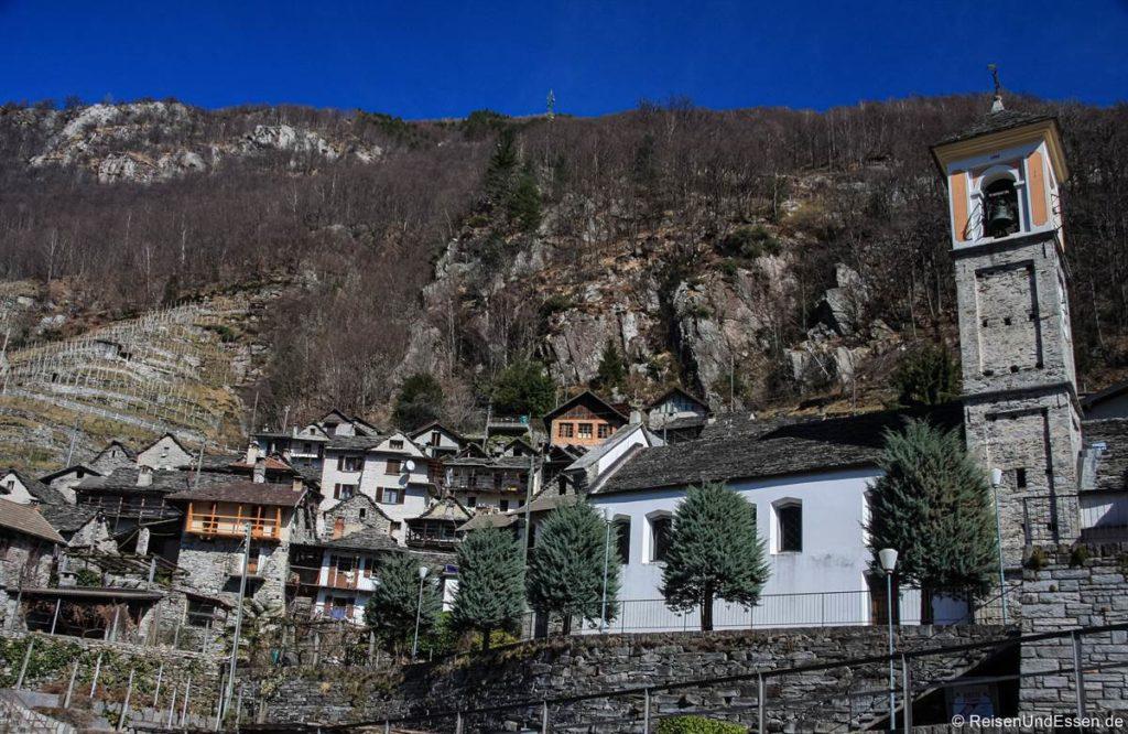 Altes Dorf im Verzascatal