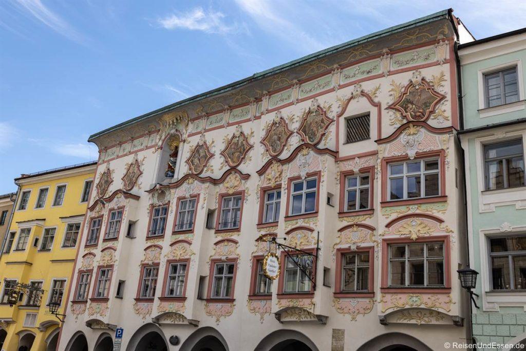 Kernhaus am Marienplatz in Wasserburg