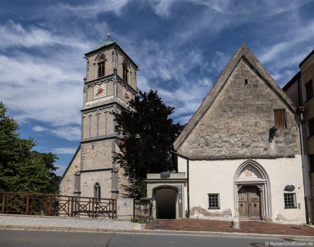 Michaelskapelle und Friedhofstiege