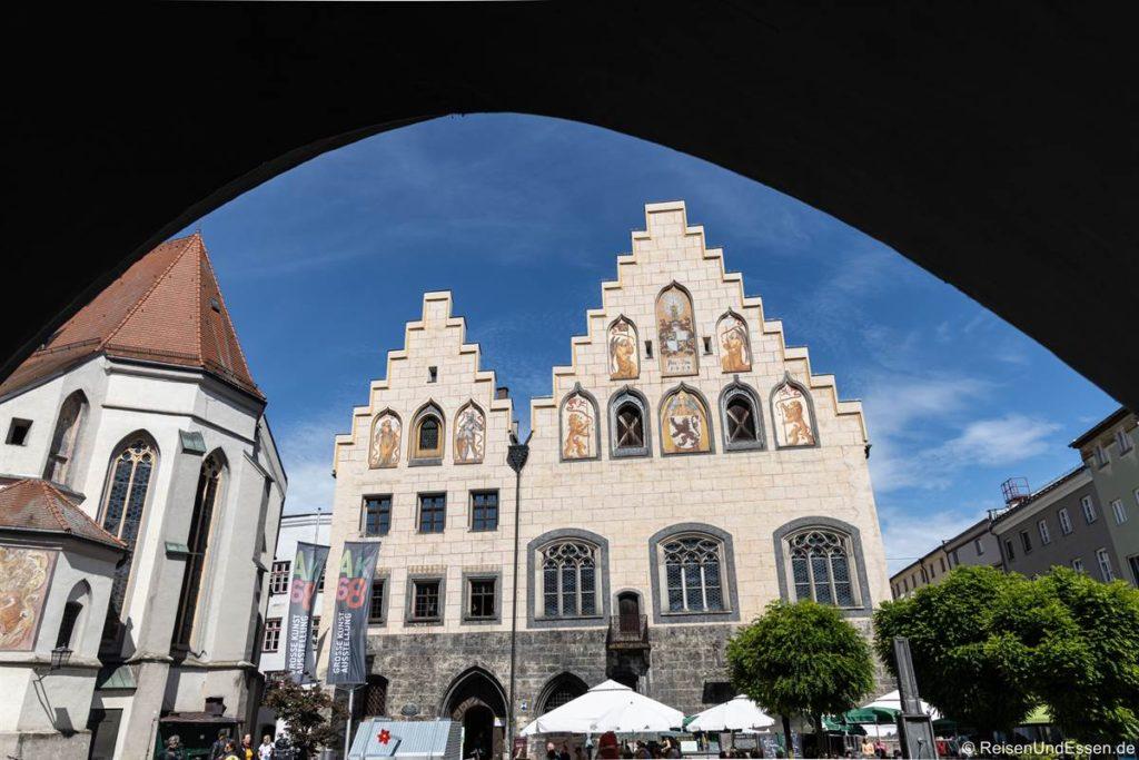Rathaus in Wasserburg am Inn