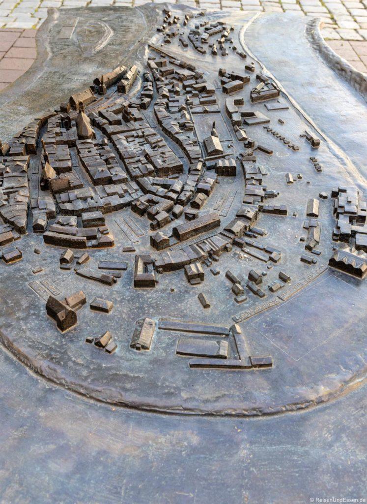 Stadtmodell von Wasserburg am Inn