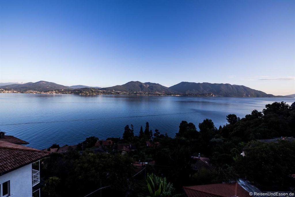 Aussicht von der Ferienwohnung in Cassino bei Cannero