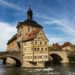 Altes Rathaus und Obere Brücke in Bamberg